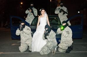 Furatul miresei la nunta intr-un mod mai deosebit. Multumita Asociatiei Sportive ATAC Piatra Neamt.